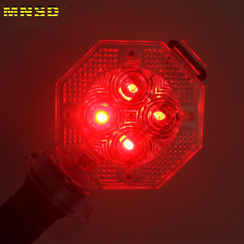 MNSD LED道路梅花灯路障施工灯警示闪光安全灯警示灯路锥顶灯