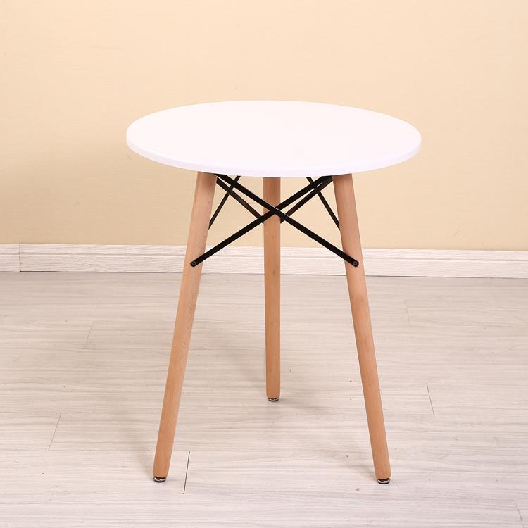 风宜家用代简约洽谈接待经济小户型餐圆桌椅子组合现吃饭 ins 北欧