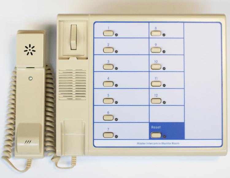 德凌電梯五方通話系統對講值班室監控主機NBT/NKT12(1-1)12A/16A