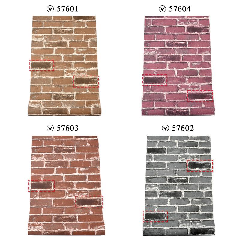 复古怀旧仿古砖墙仿真砖纹青砖砖块砖头墙纸3D咖啡馆餐厅红砖壁纸