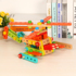 138 pieces of model disassembly and assembling combination building block removable toy wooden variety assembling screw nut educational toy