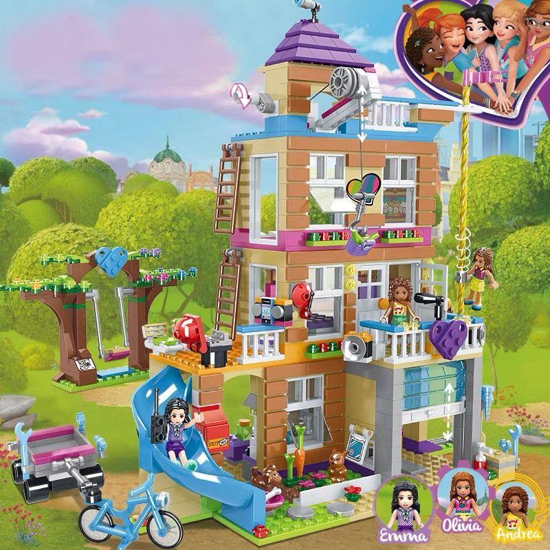 乐高积木女孩系列益智拼装6公主梦8冰雪奇缘城堡12岁友情俱乐部