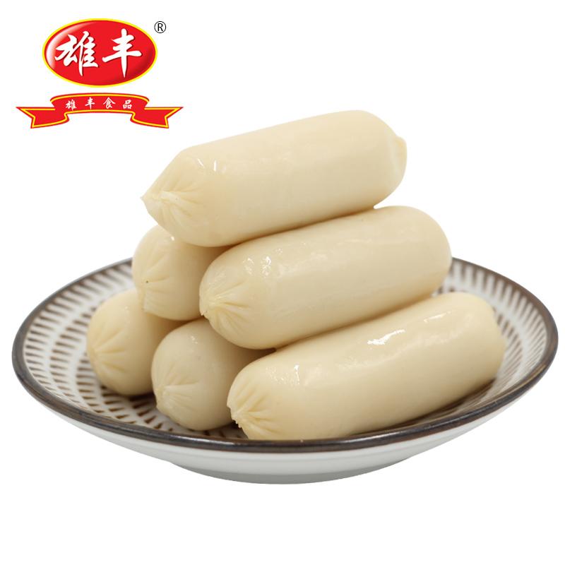 雄丰墨鱼肠500g包装火锅烧烤食材美食小香肠餐厅家庭菜式冷冻食品