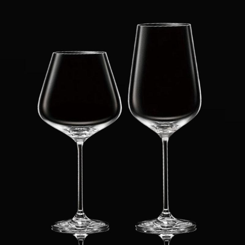 欧式家用水晶玻璃红酒杯大号葡萄酒杯波尔多高脚杯红酒杯勃艮第