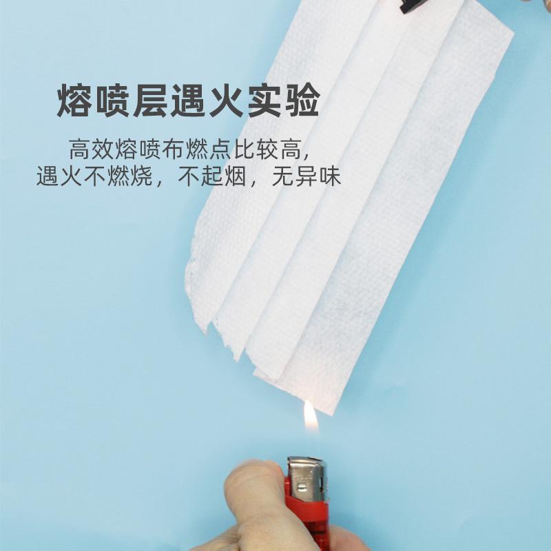 祺安一次性儿童宝宝口罩三层防护20只