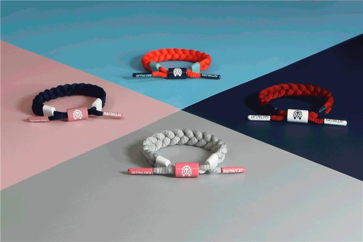 小狮子鞋带手绳 迷你 海军蓝粉红 色块系列 RASTACLAT 官方正品