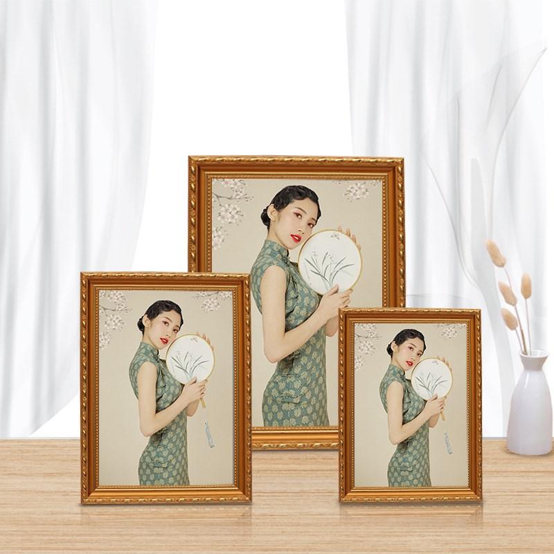简约现代实木相框5 6 7 8 10 12  16寸儿童照片个性创意挂墙画框