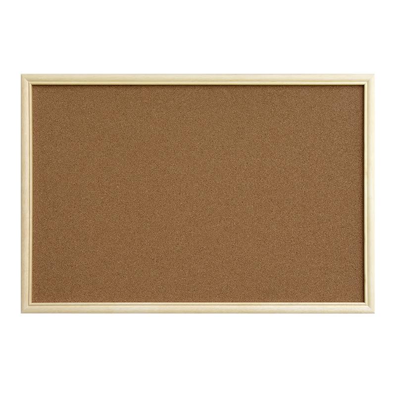 大易 可定制软木板照片墙 实木边框展示留言板水松板照片板背景墙木框宣传栏学校幼儿园主题墙公告栏