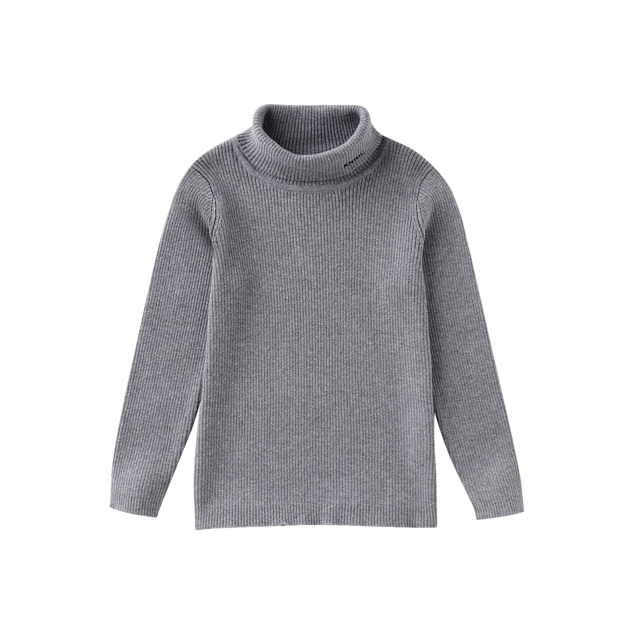 安奈儿童装女童毛衣2019新款打底衫洋气针织衫男童毛衣套头秋冬款