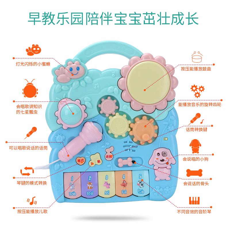 婴儿学步车手推车6-7-18个月防侧翻宝宝学走路助步车男孩女孩1岁