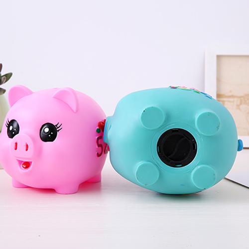 小猪防摔存钱罐儿童硬钱储蓄罐创意卡通塑料储钱罐六一儿童节礼物