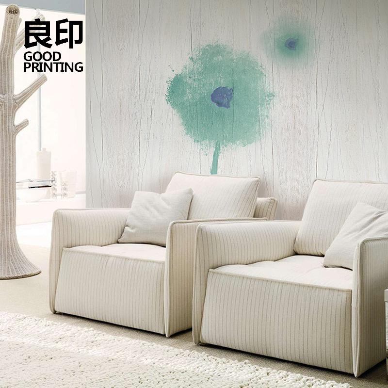 良印现代简约无缝墙布电视背景墙壁纸个性艺术无纺布墙纸定制壁画