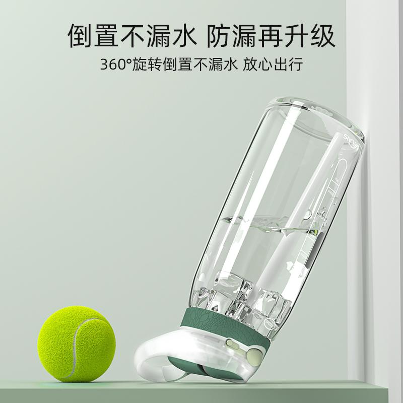 美国Melais运动水杯便携吸管杯成年大容量健身塑料大人水壶1000ml【图5】