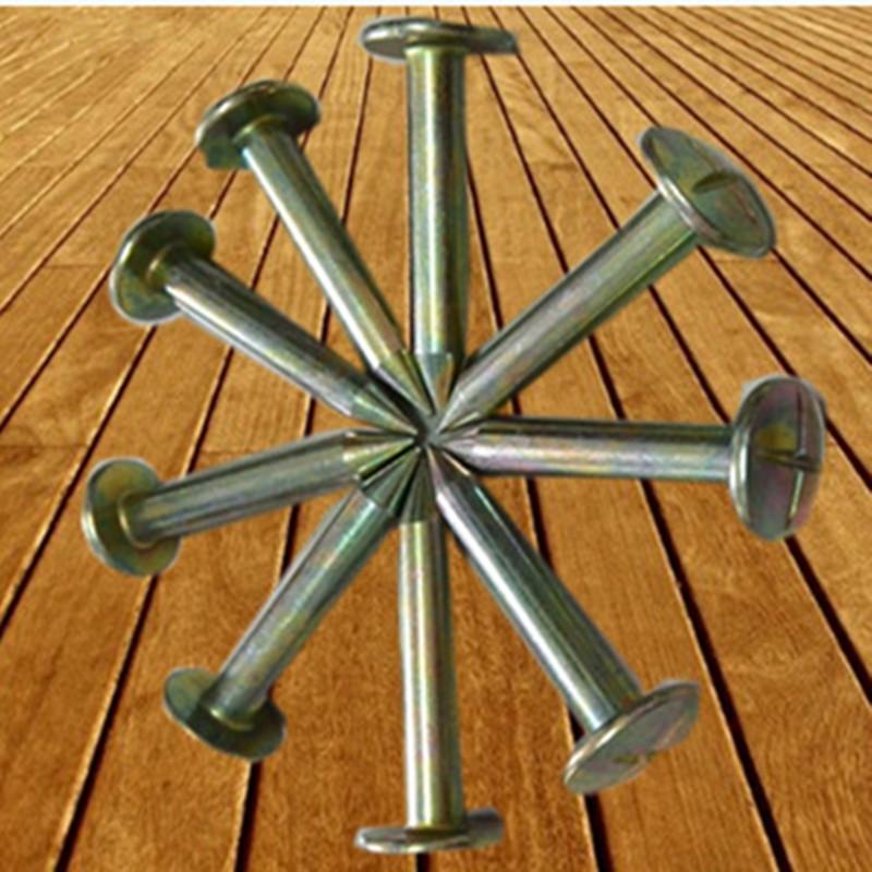 不锈钢十字圆顶测钉3/5/7/10公分 水准点控制点测量钉道钉