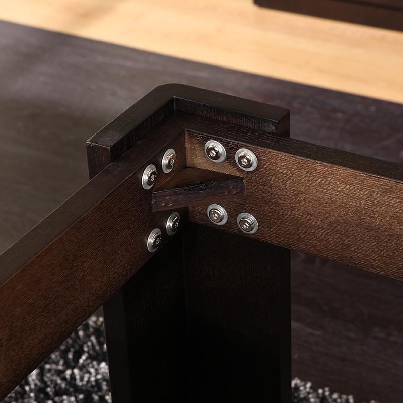 万家联享 火烧石餐桌 现代简约大小户型餐桌椅组合 餐厅家具CZ207