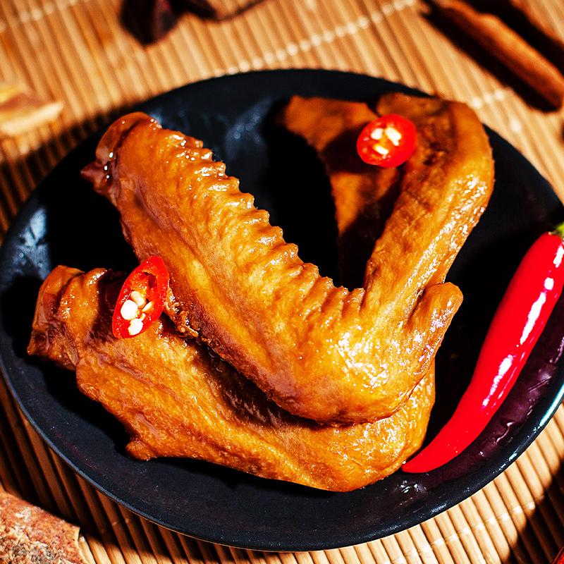 正一品鸭翅膀250g卤味熟食潮汕特产小吃香辣味真空小包装休闲零食