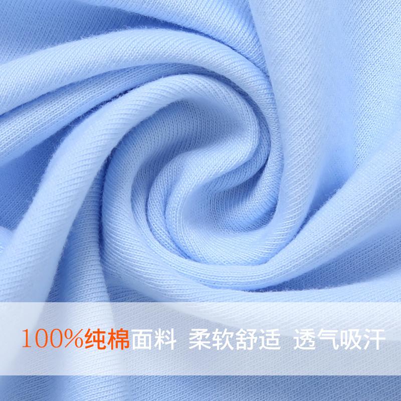 儿童短袖t恤纯棉男童女童半袖宝宝洋气打底衫单件韩版上衣