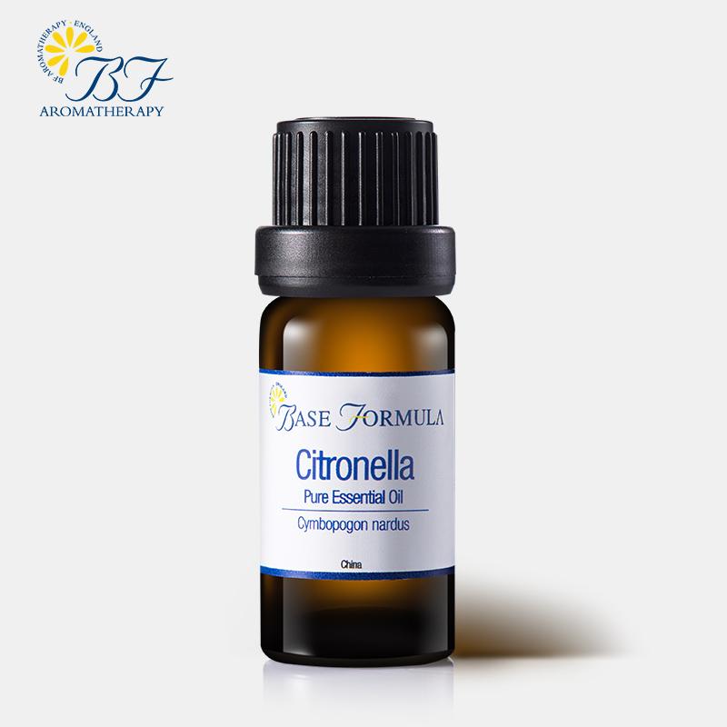 Base FormulaBF香茅精油10ml 單方精油 驅蟲止癢 清潔肌膚
