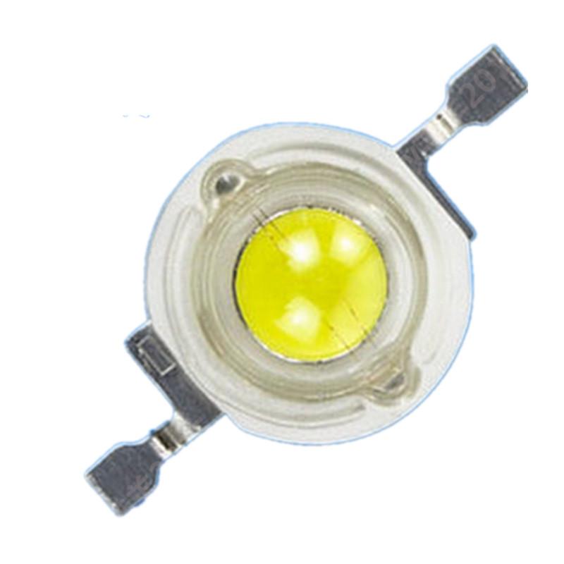 全光谱1-5W大功率LED灯珠白暖白冷白红绿蓝黄橙紫冰蓝粉红光灯珠