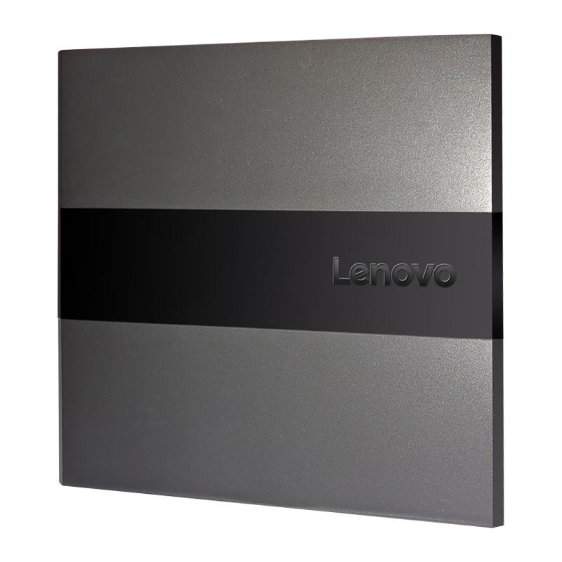 联想外置刻录机DVD刻录光驱 DB75 PLUS笔记本一体机台式机电脑通用外置USB移动光驱 兼容华硕苹果笔记本