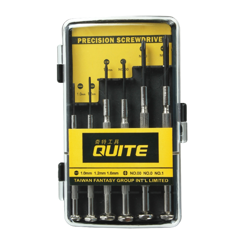 奇特工具6件套螺丝批螺丝刀手表手机维修电脑笔记本拆机组合套装