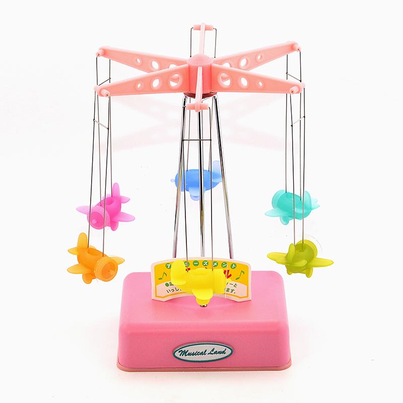 台湾进口旋转摩天轮音乐盒八音盒创意女孩小女生生日礼物精品摆件