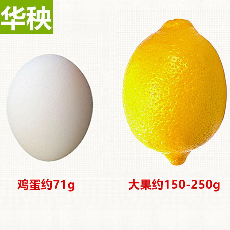 华秧安岳黄柠檬一级大果5斤新鲜现货应季水果直批整箱皮薄青柠檬