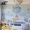 雅心热气球儿童房壁纸无缝定制欧式无纺布墙纸男孩女孩房卧室墙布