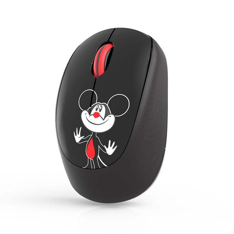 富德无线儿童鼠标超小巧静音华硕联想戴尔苹果笔记本电脑迷你创意卡通女生幼儿大人商务便携无限小型手通用
