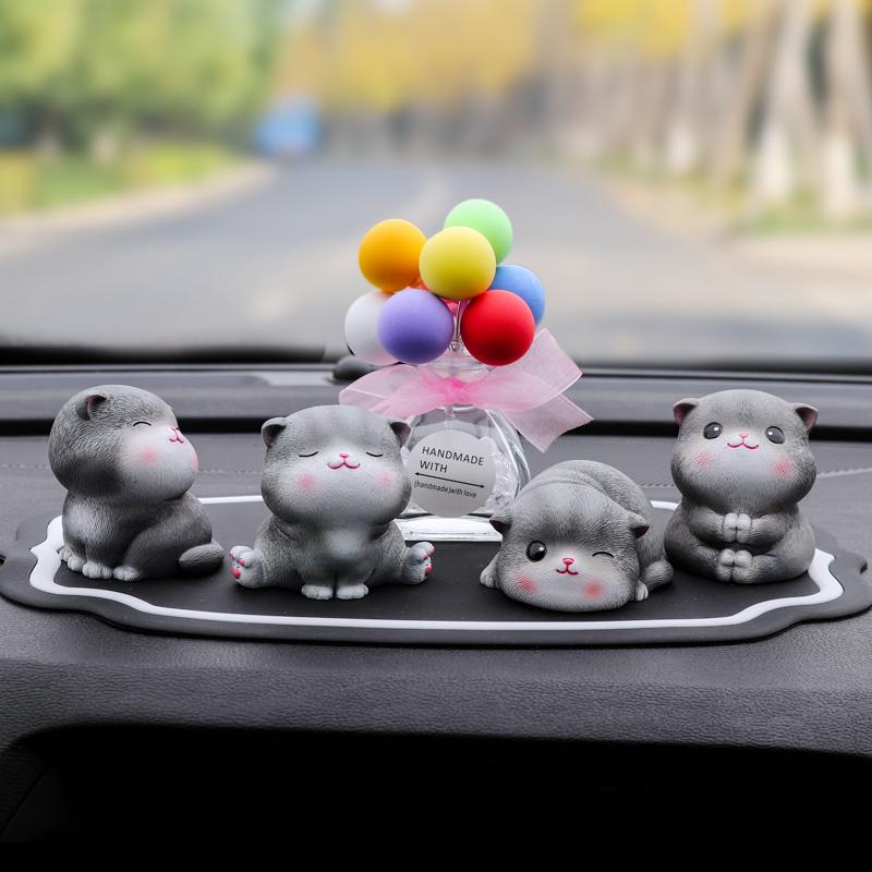 汽车小猫可爱摆件创意个姓男女礼物车内饰装饰品网红车载可爱公仔