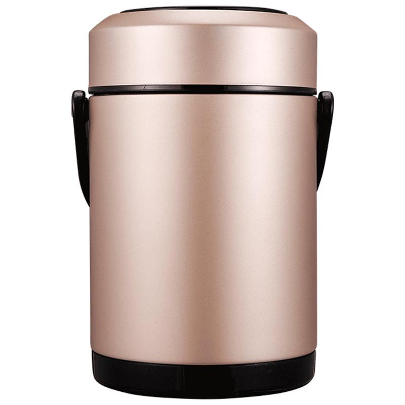 保温饭盒保温桶不锈钢学生真空超长保温便携成人大容量3层24小时