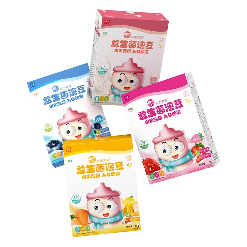 婴幼儿酸奶溶豆+鳕鱼肠