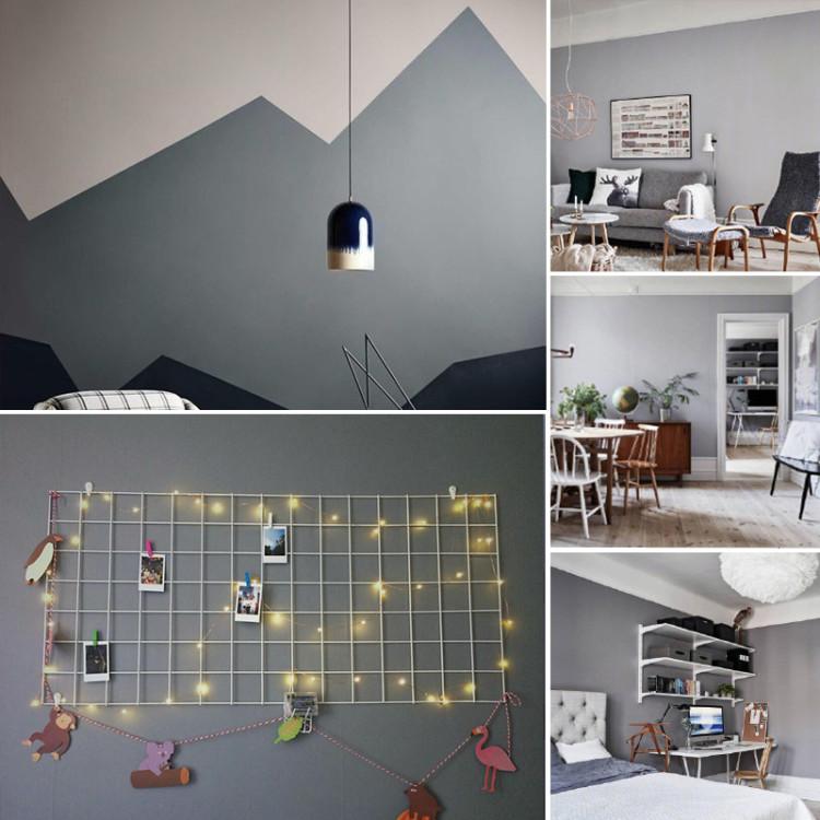 防水墙纸自粘卧室温馨壁纸pvc灰色墙贴学生宿舍装饰家具翻新贴纸