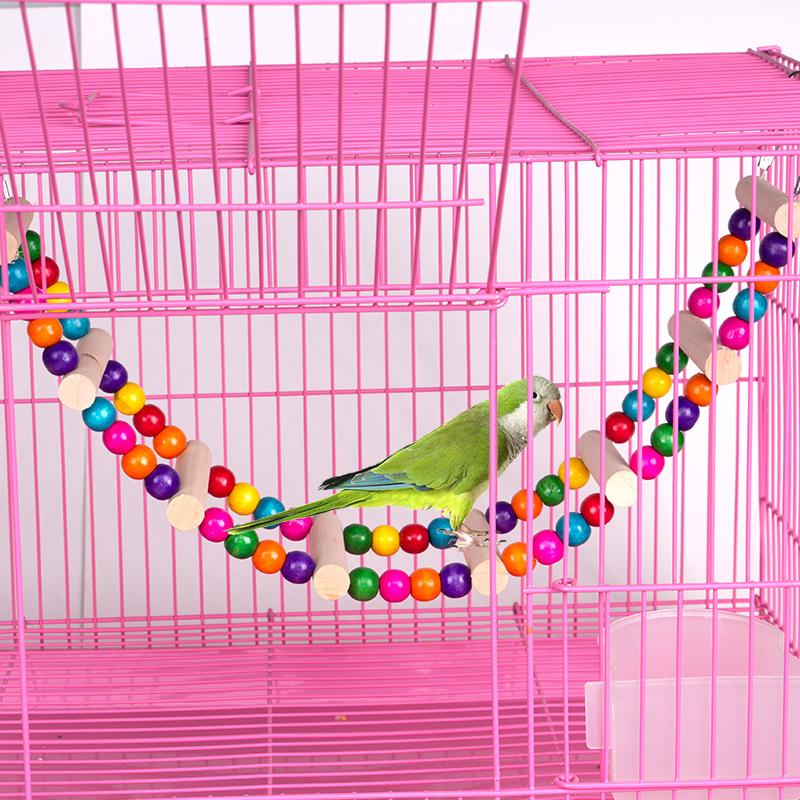 鹦鹉玩具用品鸟用秋千吊环云梯爬梯虎皮牡丹玄凤鸟笼梯子啃咬攀爬