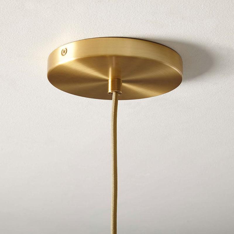 北欧现代简约创意卧室床头吧台餐厅厨房渐变色圆球玻璃单头小吊灯