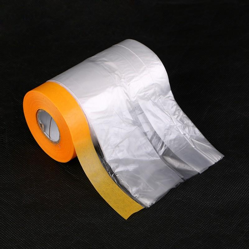雅萍 保护膜 油漆遮蔽膜美纹纸 和纸喷漆装修喷涂家具 硅藻泥汽车