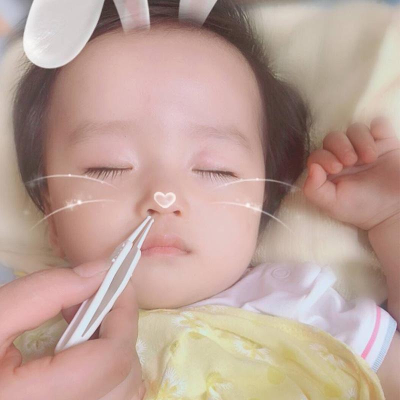 鼻屎夹婴儿鼻屎镊子宝宝鼻孔清洁器新生儿挖鼻屎器耳屎夹掏鼻子的