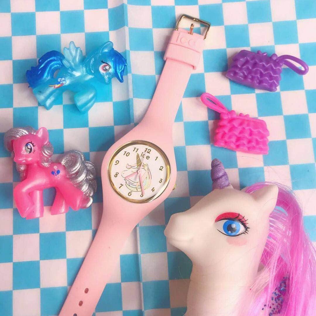 艾施硅树脂柔软表带儿童手表学生表卡通女表时尚石英表欧美 Ice