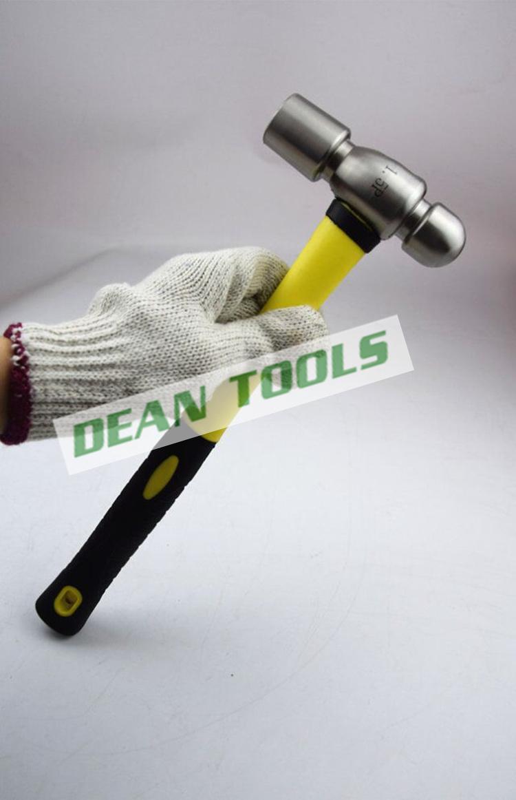 防磁圆头锤 304不锈钢奶头锤 铝锤子 安防牌锤子0.5P-3P防磁榔头