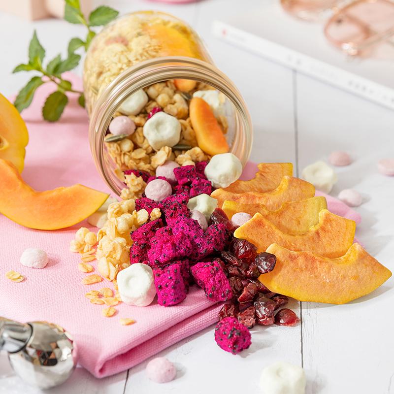 【王子异同款】桂格3亿活菌麦果脆酸奶大果粒水果麦片早餐375g*2 - 图3