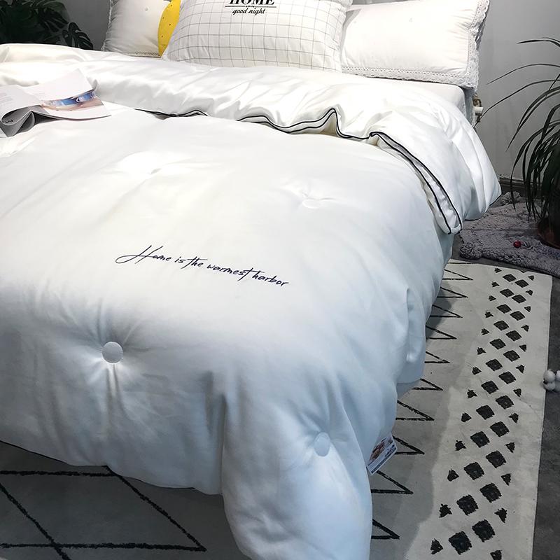 加厚保暖软垂感 五星级酒店日本进口暖绒芯秋冬被芯 超柔云柔被子