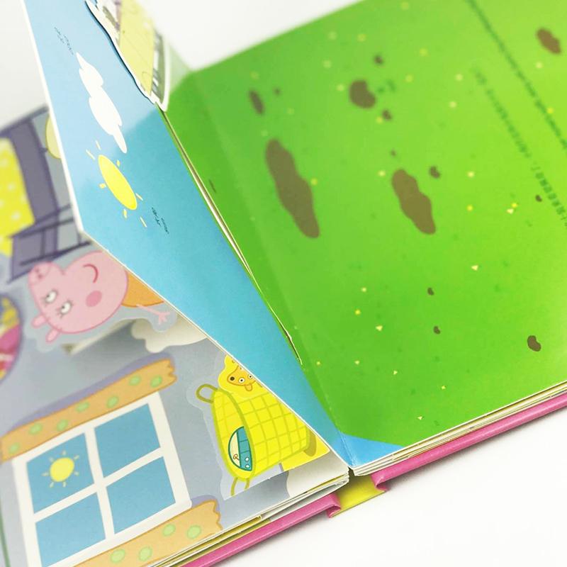 周岁宝宝早教启蒙动画书牙仙子佩奇生丙了儿童美绘本故事书 6 3 0 册 2 立体剧场书全套 3d 中英文双语经典 小猪佩奇书好习惯养成系列