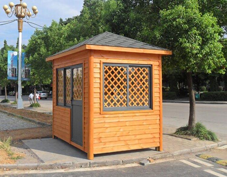 户外售货亭不锈钢防腐木售报亭售卖车移动小型组合型
