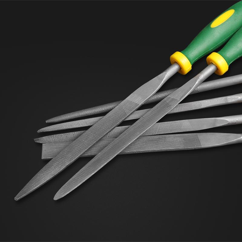 汉斯 什锦锉刀6件套装 金属锉 小锉刀 迷你锉刀组合套装