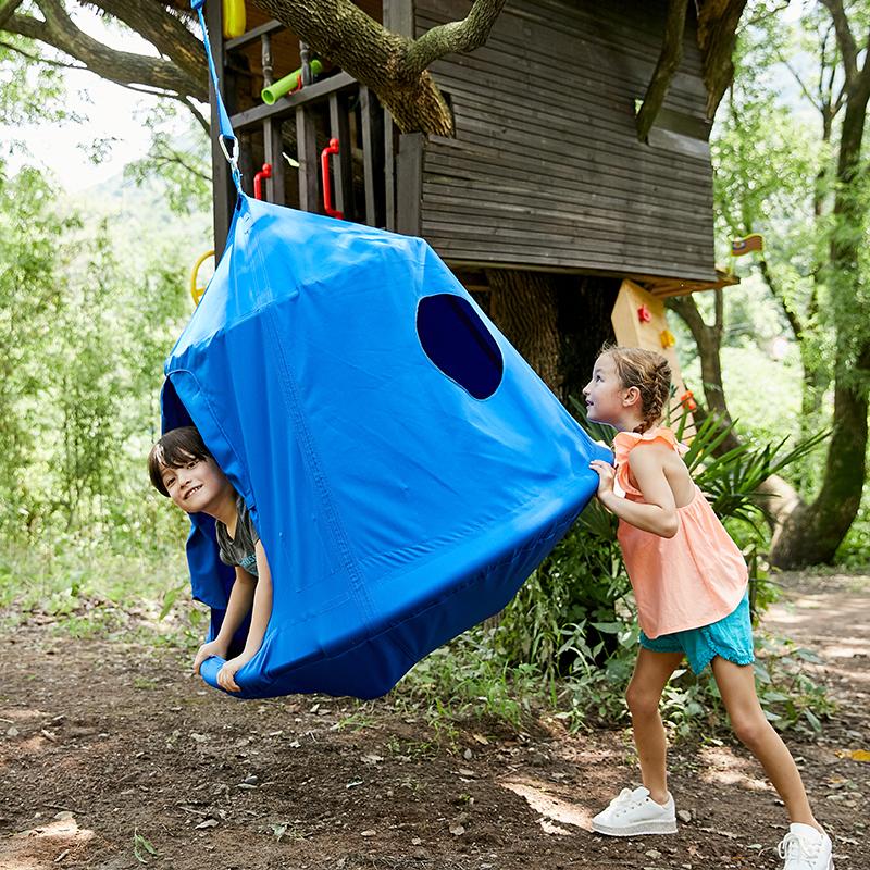 GladSwing儿童空中帐篷  帐篷儿童吊椅秋千室内家用 吊床户外阳台