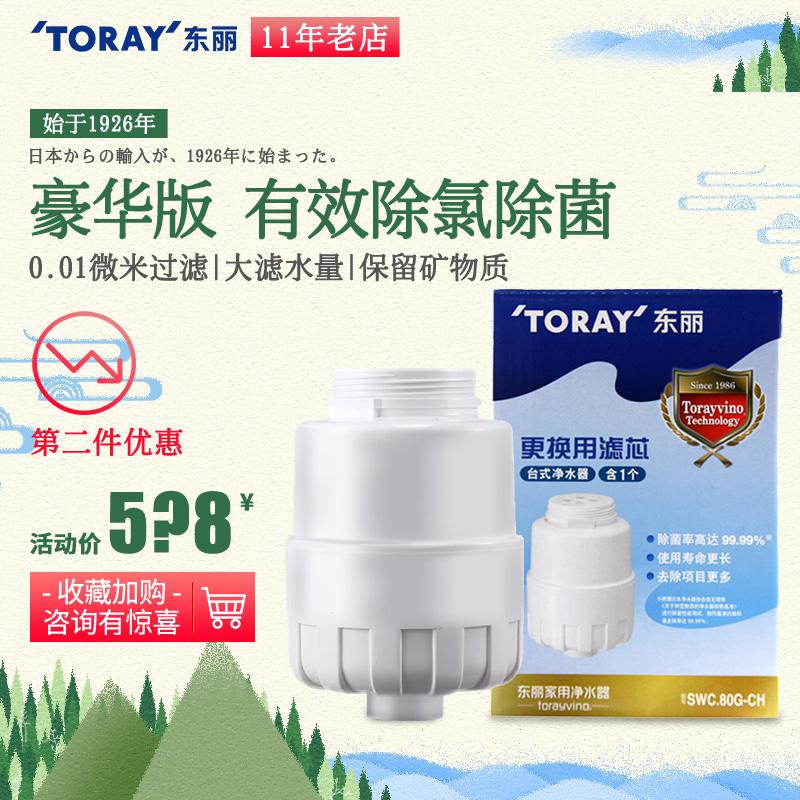 TORAY東麗比諾家用臺式淨水器濾芯SWC.80G-CH 適用SW801/SW805