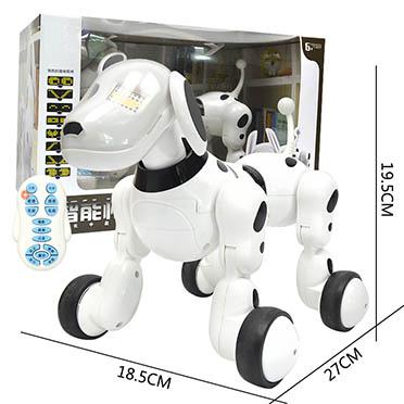 早教益智智能无线遥控狗机器狗可充电前进后倒仿真宠物狗电动玩具