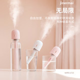 Jinermai Lollipop Humidifier Bedroom Home Rechargeable Mini USB Car Spray Pregnant Woman Baby High Fog Wireless Portable Air Conditioning Room Office Desktop Student Dormitory
