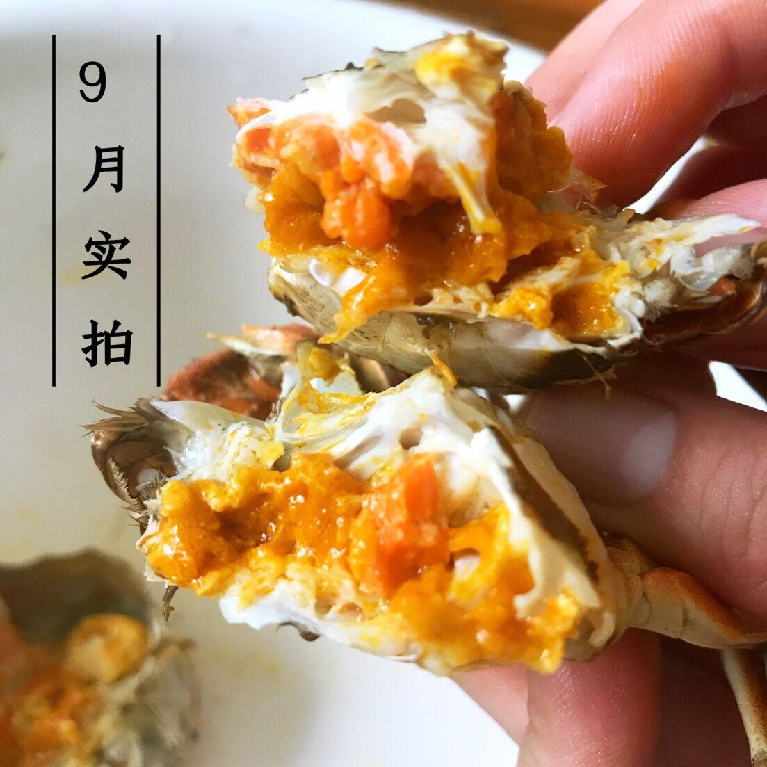 盘锦河蟹大闸蟹鲜活现货1.8-1.5两母蟹15只稻田蟹螃蟹顺丰包邮