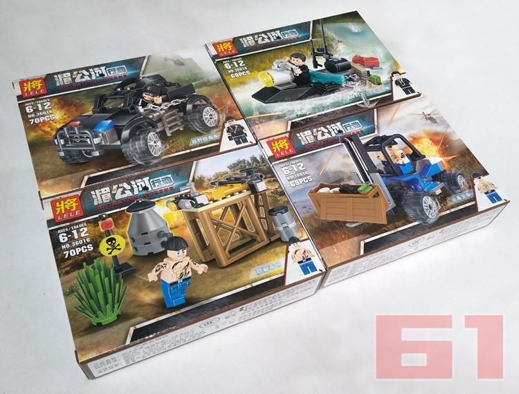 迪龍d192紅海行動 沙漠迷彩特種兵 兼容樂高軍事警察人仔拼裝玩具圖片